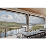 Retractable Roll Up Insect Screens by Texas Sun & Shade